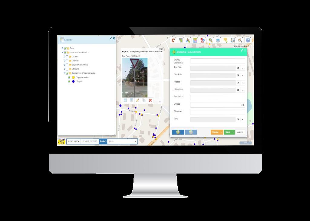Modulo WebSIT Segnaletica Stradale